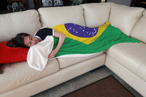 Brazil Fleece Blanket