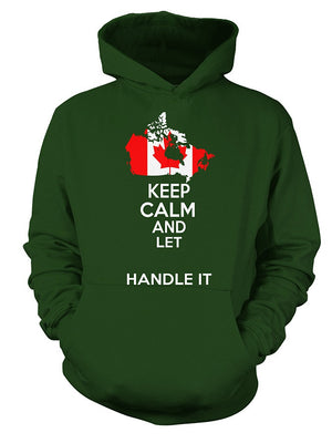 [Personalized] Canadian Keep Calm Shirt