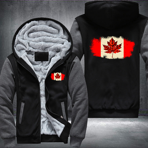 Maple Leaf Fleece Hoodies Limited Edition !