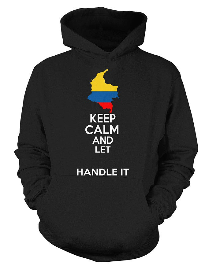 [Personalized] Keep Calm Colombian Shirt