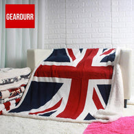 BRITISH  blanket throw