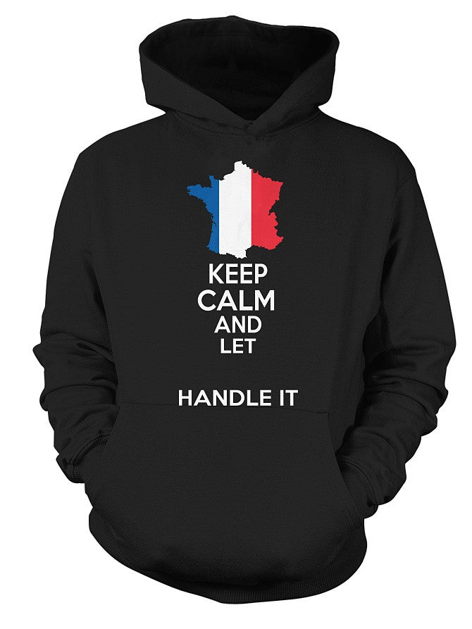 [Personalized] French Keep Calm Shirt