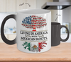 MExican American Color Changing Mug