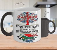 Color Changing Mug-in Uk With South African Roots !
