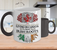 Irish Canadian Color Changing Mug