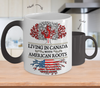 Color Changing Mug-in Canadia with American Roots !