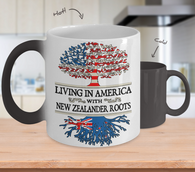 New Zealander Roots Colors Changing Mug !