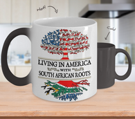 Color Changing Mug-America South African!