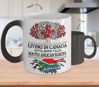 Color Changing Mug-Canada South African!