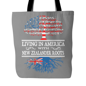 American With New Zealander Roots Tote Bag