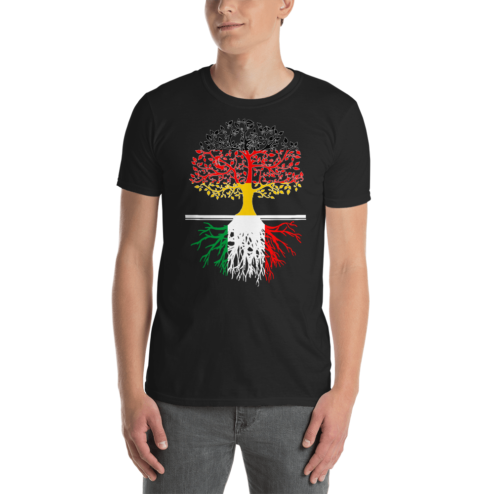 Living in Germany With Italian Roots Unisex T-Shirt
