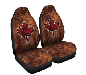 Maple Leaf Car Seat Covers (Set of 2)