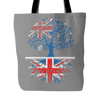 Australian With British Roots Tote Bag