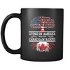 Living in America With Canadian Roots MUGs