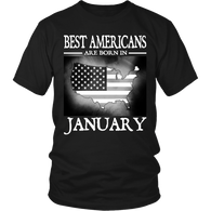Best Americans Are Born in January !