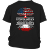 Living in America With Polish Roots Tees !