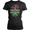 Living in America With Brazilian Roots Tees !