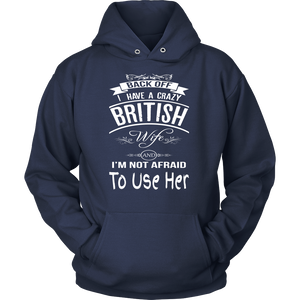 Perfect Gift For Your Husband ! A Crazy British Wife