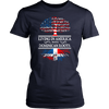 Living in America With Dominican Roots Shirt !