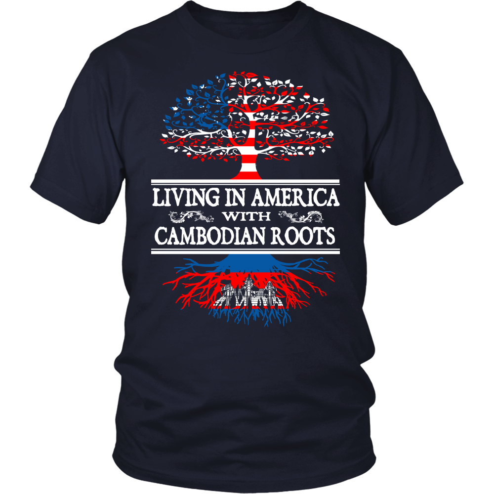 Living in America With Cambodian Roots Tees !