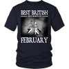 Best British Are Born in February !