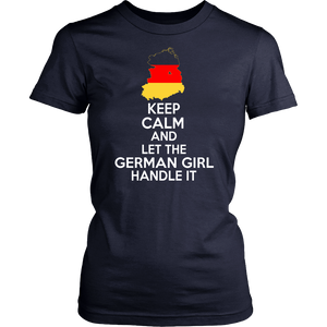 Keep calm And let German Girl handle It !
