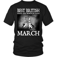 Best British Are Born in March !