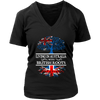 Living in Australia With British Roots Tees!