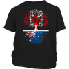 Canadian Australian Roots Tees !