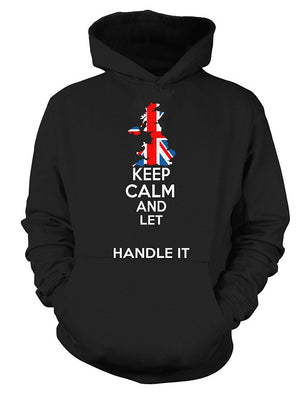 [Personalized] British Keep Calm Shirt