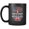 American Grown With British Roots Mug