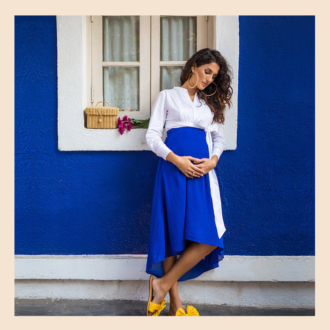 Maternity Skirts Are Having A Moment.