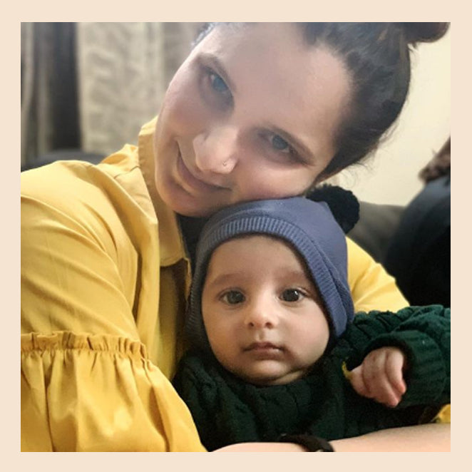 Get it now! Sania Mirza's post pregnancy style in our Maia Maxi Dress