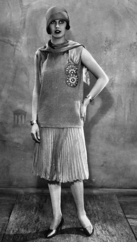 1920's Flapper Maternity Style