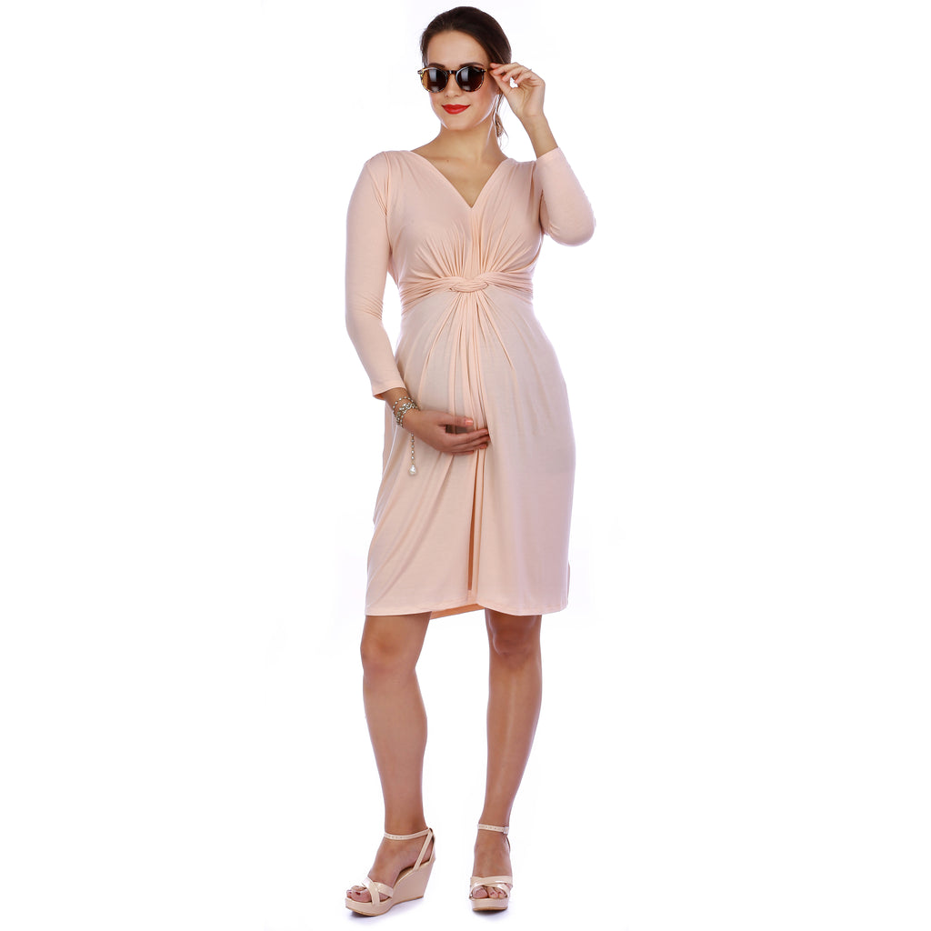 Maternity-Dresses-The-Top-Knot-English-Rose