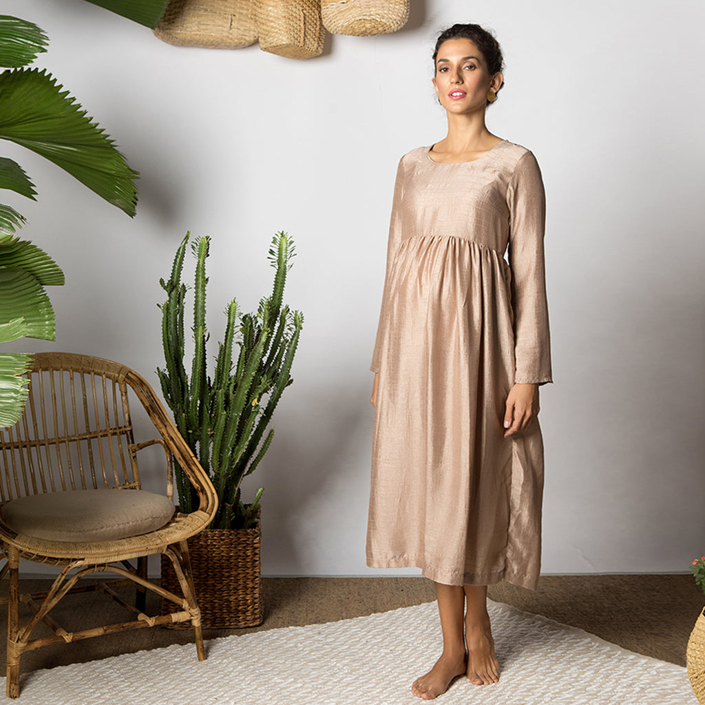 Maternity-Dresses-The-Theia-Midi-Summer-Bronze-Image2