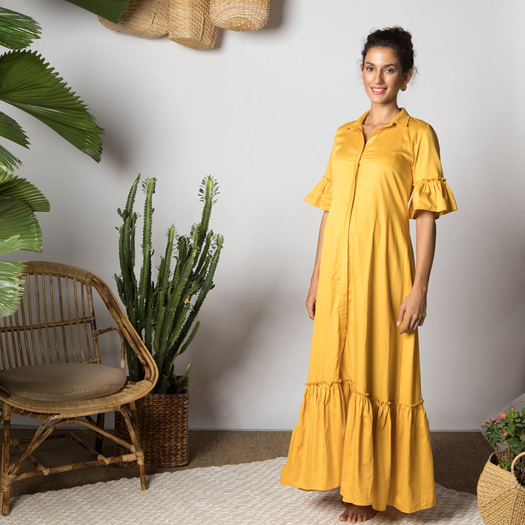 Maternity-Dresses-Maia-Maxi-Dress-Tuscan-Yellow-Image3