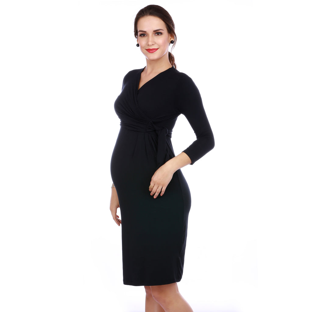 Maternity-Dresses-The-L-B-D-Black