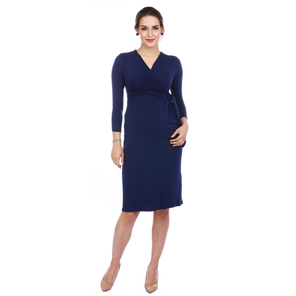 Maternity-Dresses-The-L-B-D-Inky-Blue