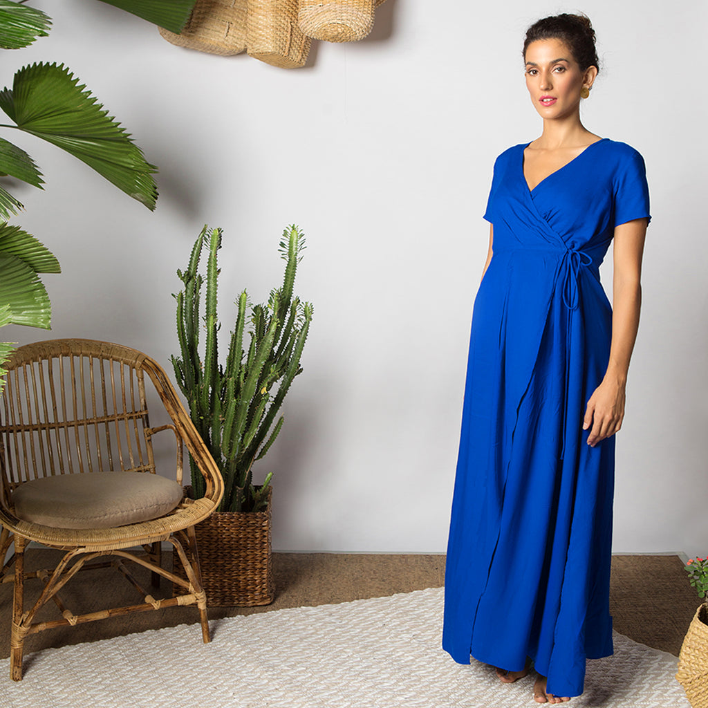 Maternity-Dresses-Selene-Moon-Dress-Azure-Blue-Image3