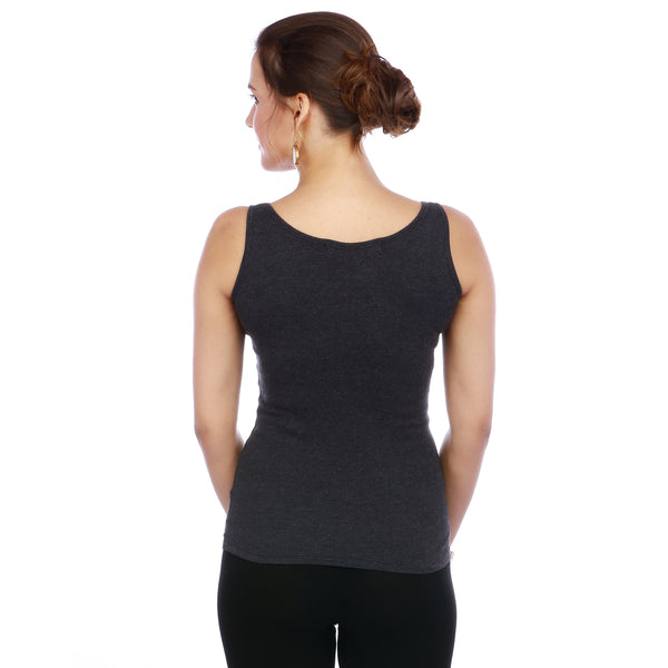 THE Cami - a soft, ribbed jersey tank top