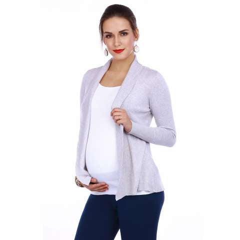 Maternity-Dresses-The-Bundle-Up-Cardigan-Blue-Image2