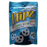 Flipz Birthday Cake Covered Pretzels 141g - UK Shop