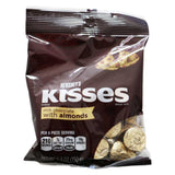 Hershey's Kisses Milk Chocolate With Almonds Peg Bags 150g - UK Shop