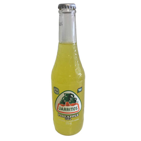 Jarritos Pineapple Soda 370ml - UK Shop
