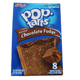 Kelloggs Pop Tarts Frosted Chocolate Fudge Toaster Pastries 416g - UK Shop