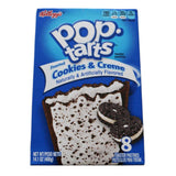 Kelloggs Pop Tarts Frosted Cookies & Creme Toaster Pastries 400g - UK Shop