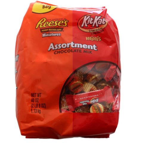 Assortment Party Bags Containing Kit Kat & Reese's Chocolate 1130g - UK Shop