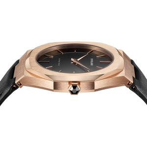 Ultra Thin Leather 40 mm - Rose Gold