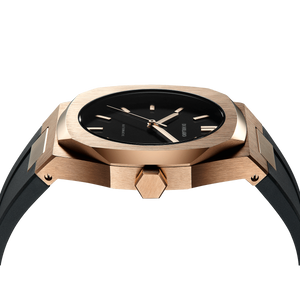 Automatic Rubber 41.5 mm - Rose Gold